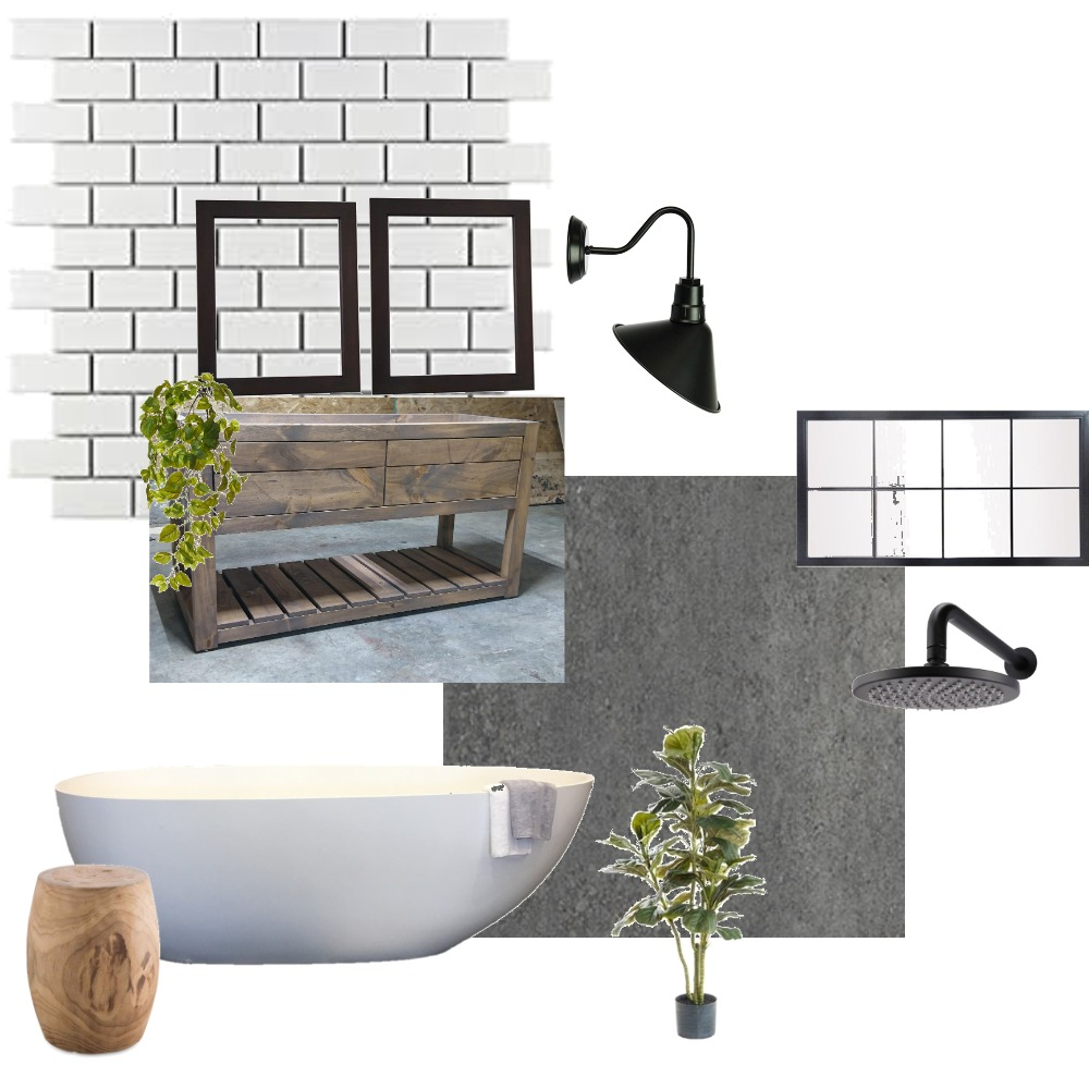 Townhouse1 Main bathroom Interior Design Mood Board by Nardia on Style Sourcebook