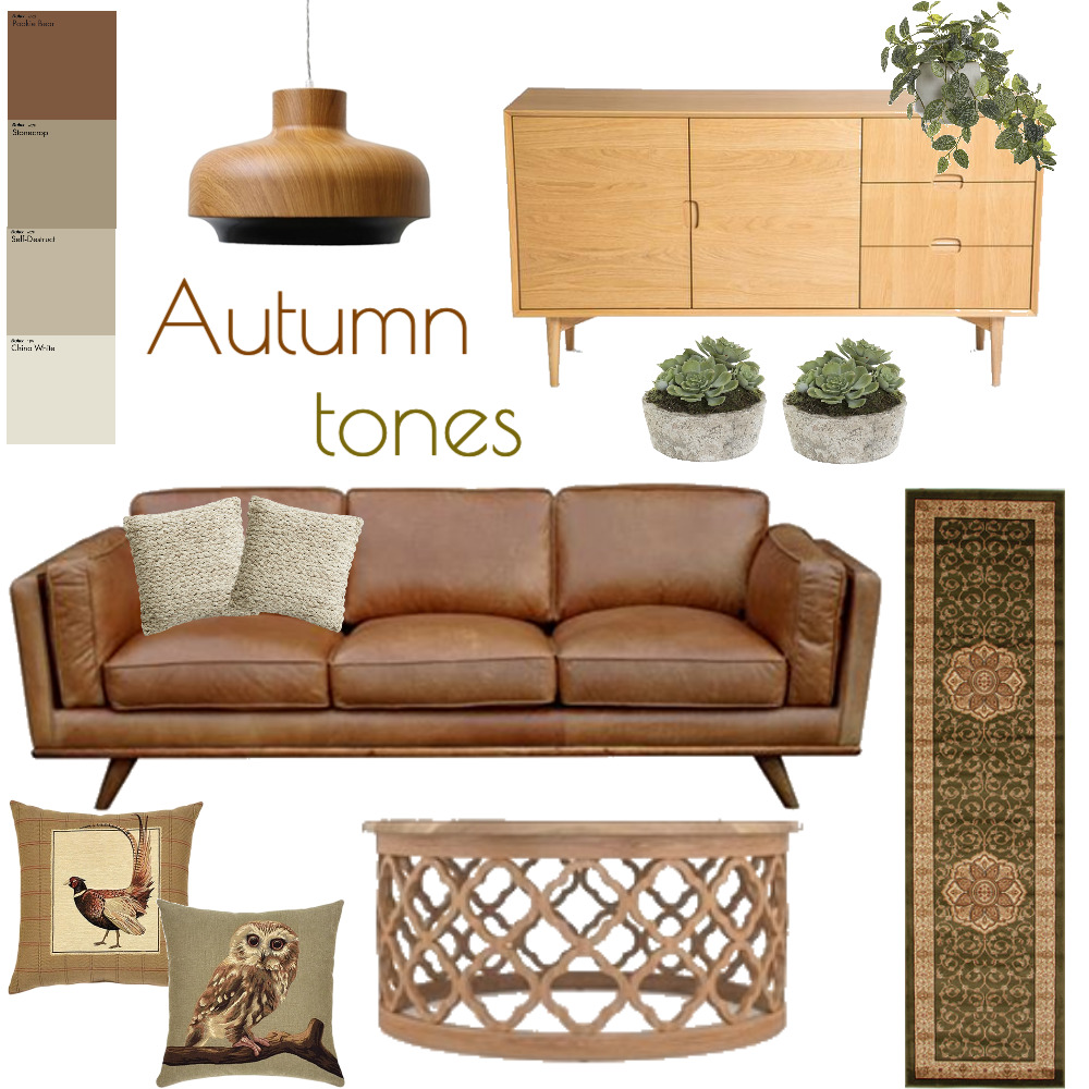 Autumn tones Mood Board by www.susanwareham.com on Style Sourcebook