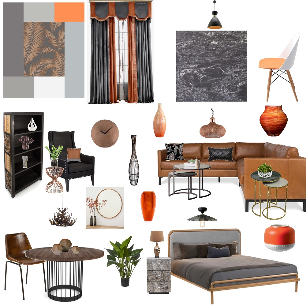 Monochromatic Interior Design Mood Board by Shenzy on Style Sourcebook