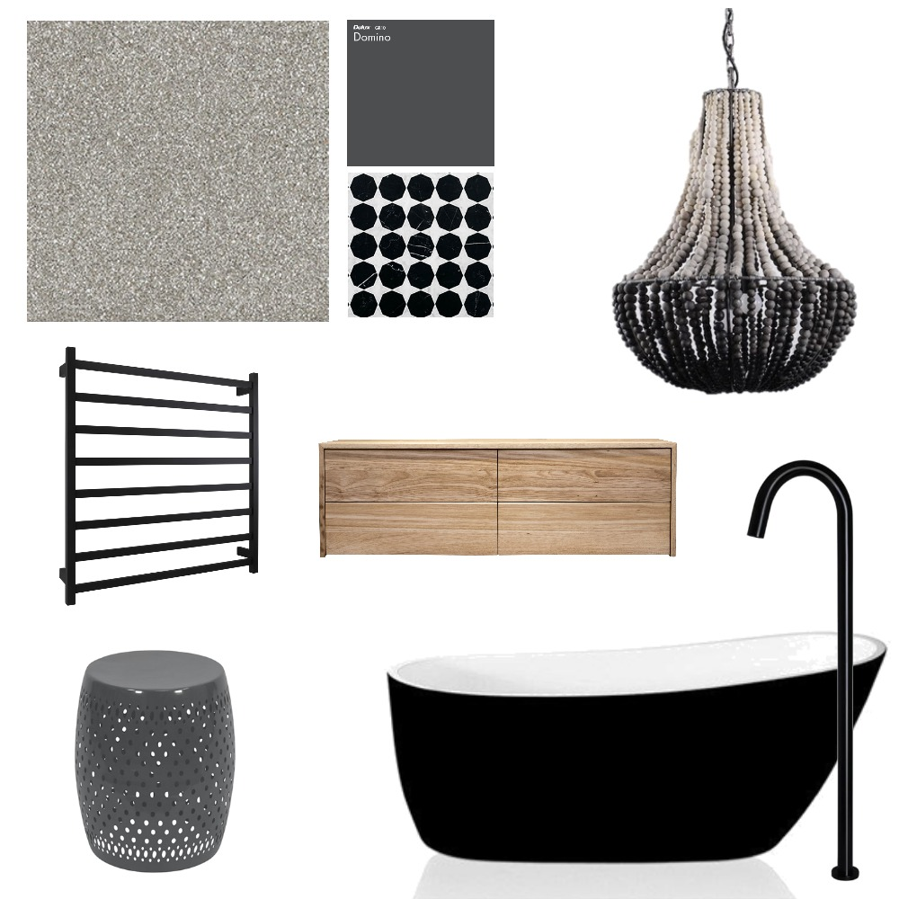 Designer Bathroom Mood Board Mood Board by interiorsbyrae on Style Sourcebook