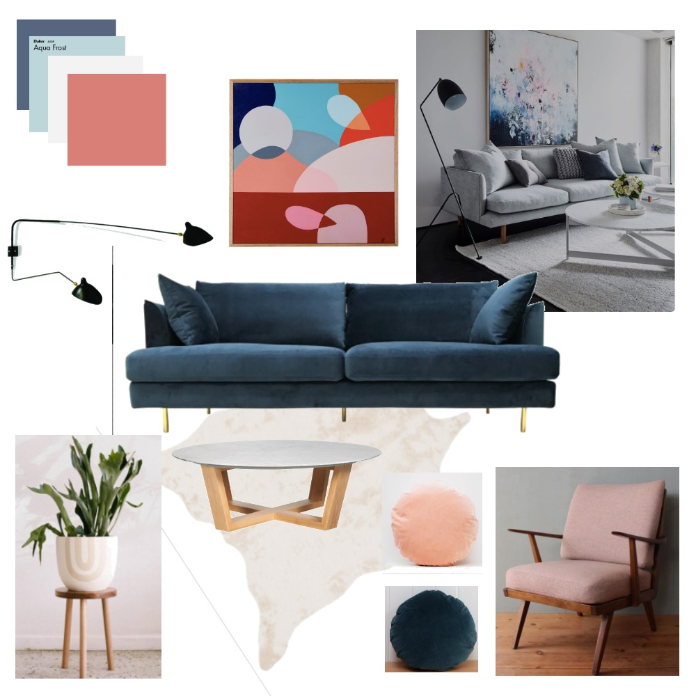 Brunswick Apartment Living Room Mood Board by JanaIsazaSmith on Style Sourcebook