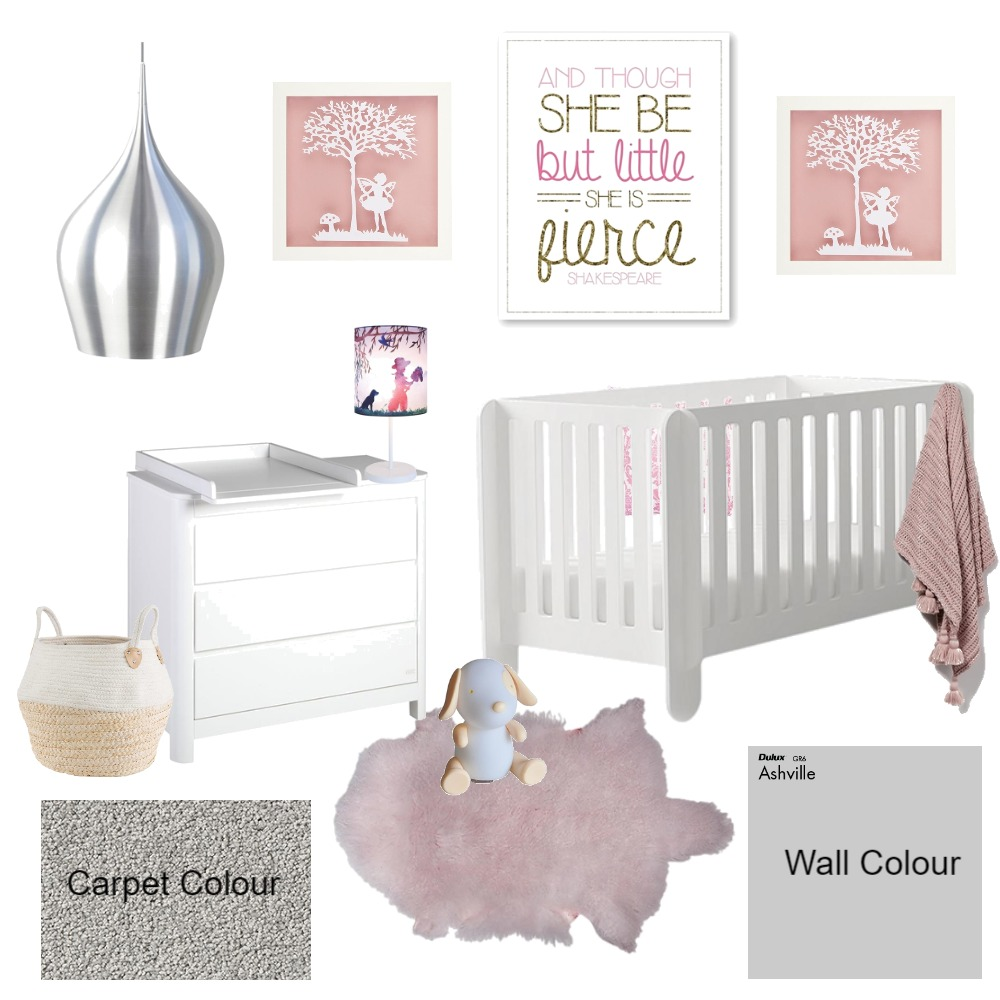 Nursery Interior Design Mood Board by Harp Interiors on Style Sourcebook