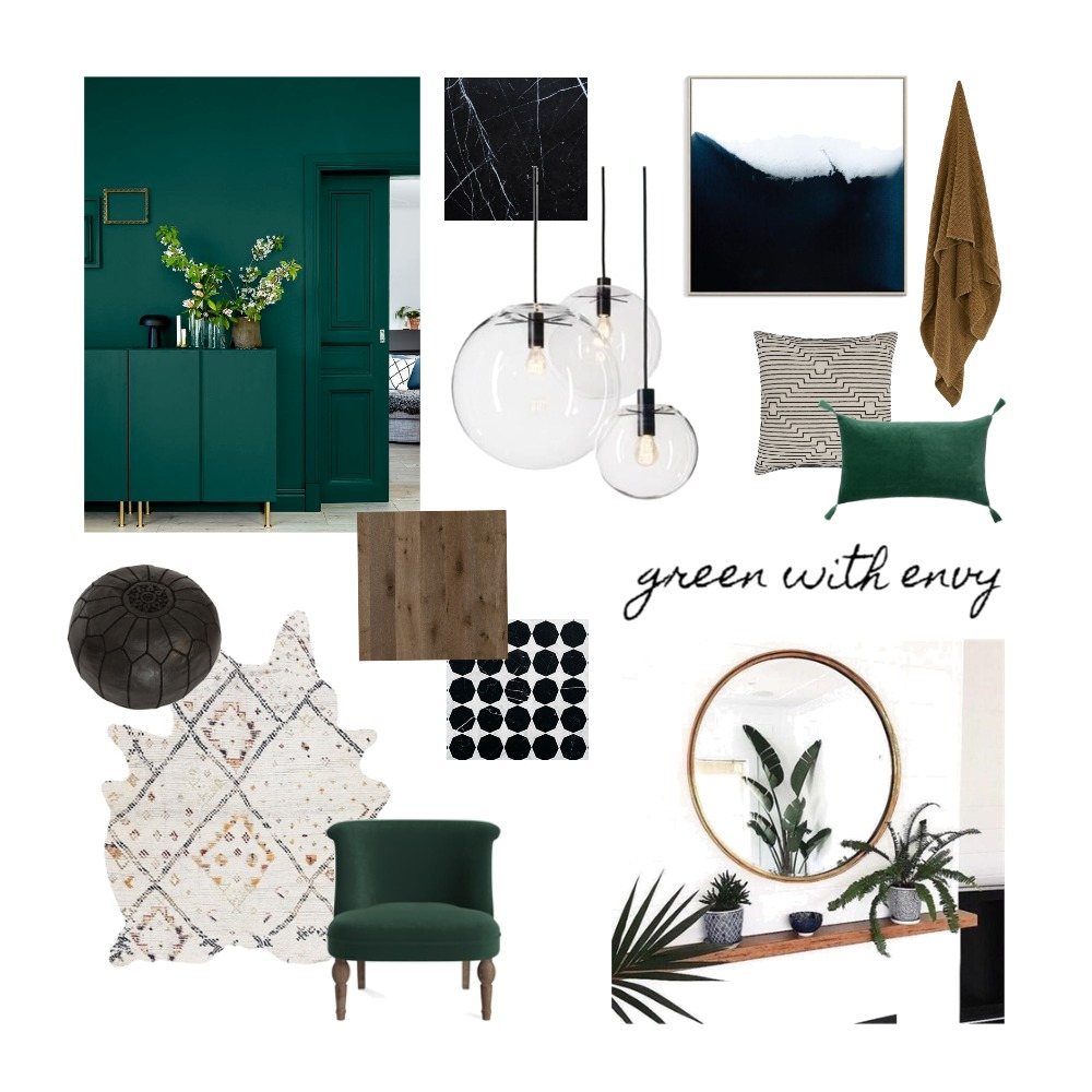 Green with envy Mood Board by interiorsbyayla on Style Sourcebook