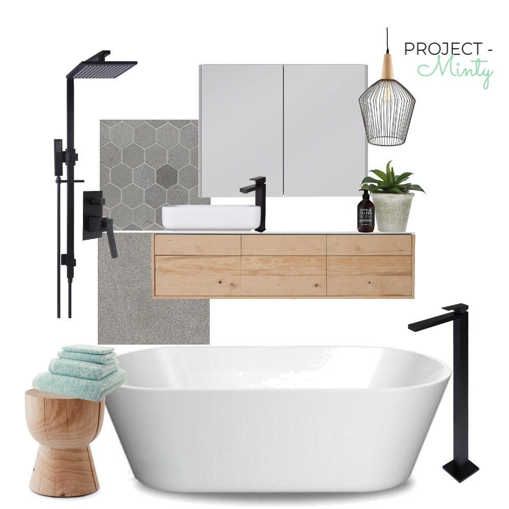 Project Mint - Bathroom Mood Board by Michelle Finch on Style Sourcebook