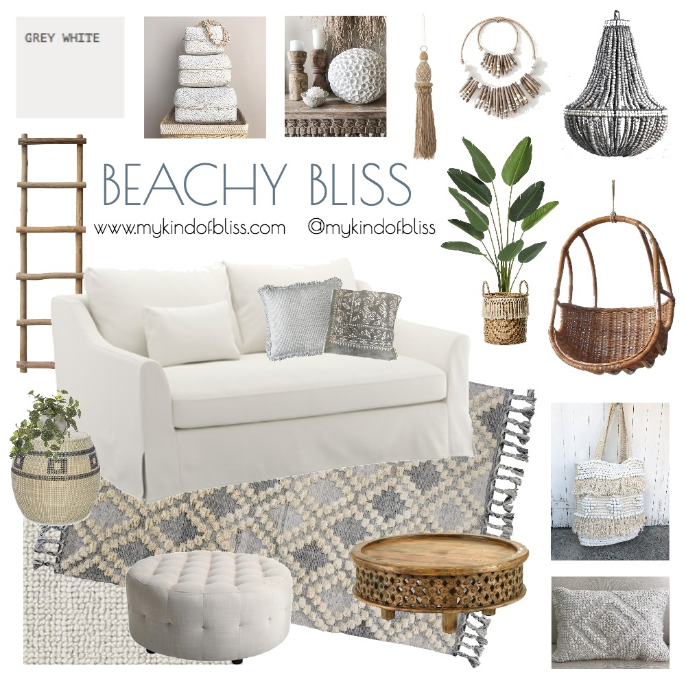 BEACHY BLISS Mood Board by My Kind Of Bliss on Style Sourcebook