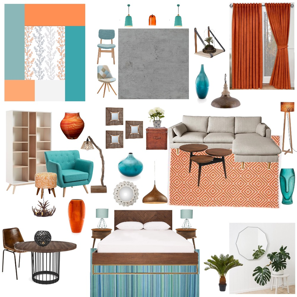 Complimentary Mood Board by Shenzy on Style Sourcebook