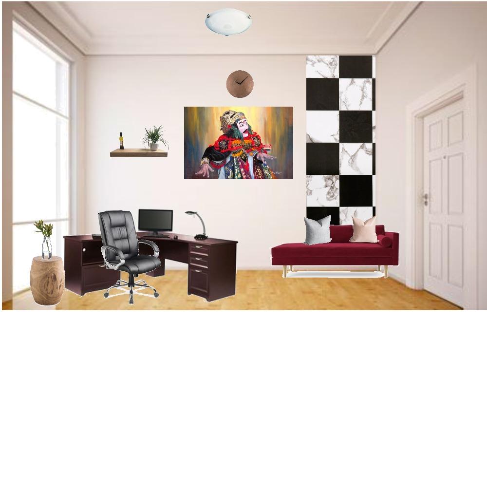 workspace Interior Design Mood Board by neysaauliaa on Style Sourcebook