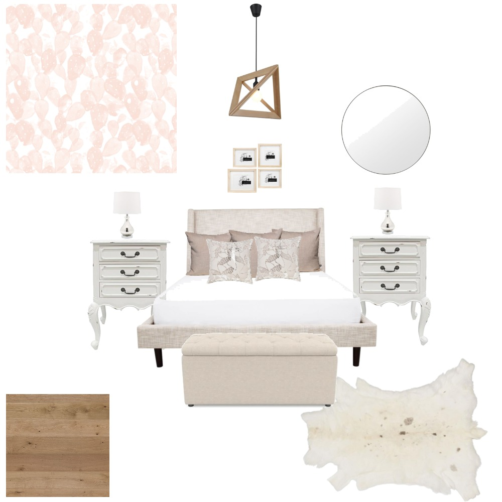 Romantic Bedroom Interior Design Mood Board by LiDesigns on Style Sourcebook