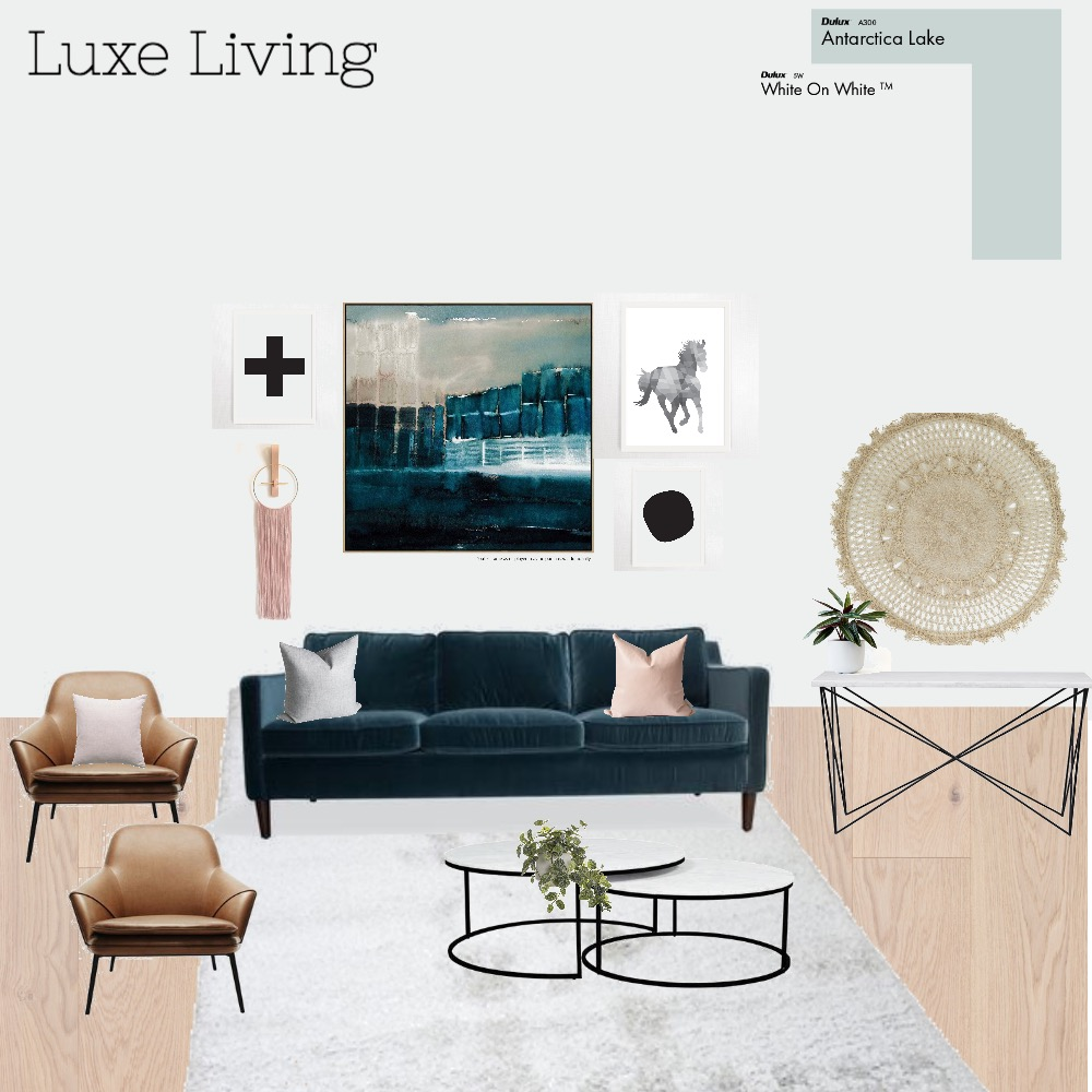 Luxe Living Interior Design Mood Board by Style My Abode Ltd on Style Sourcebook