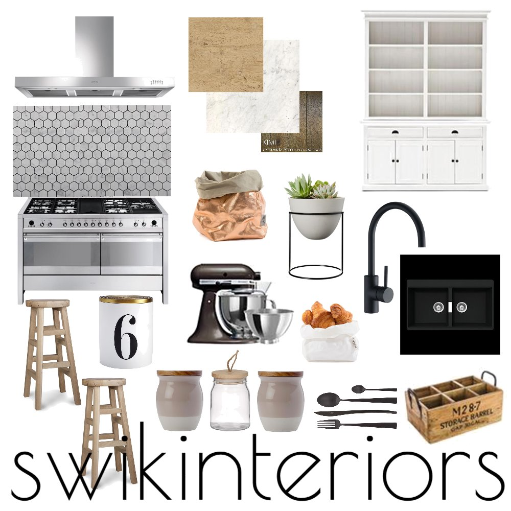 MODERN KITCHEN Interior Design Mood Board by SWIK Interiors on Style Sourcebook