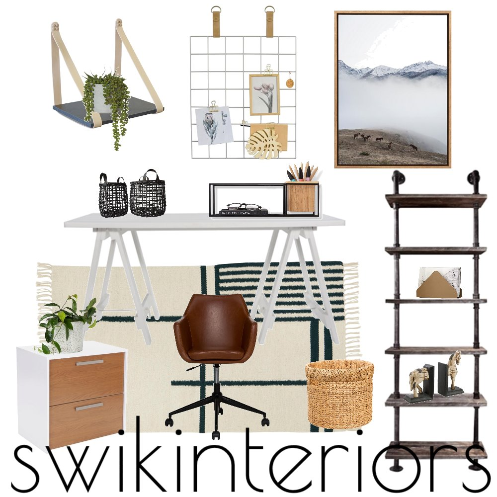 HOME OFFICE Mood Board by SWIK Interiors on Style Sourcebook