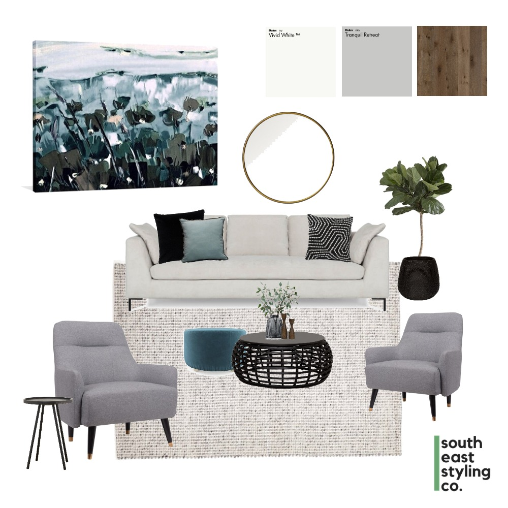 Living Styling 3 Mood Board by South East Styling Co.  on Style Sourcebook