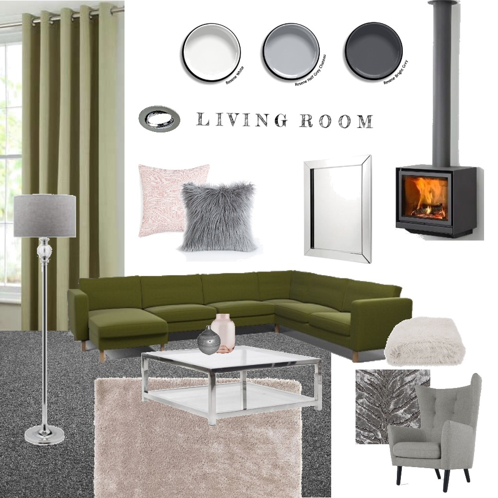 Living room Interior Design Mood Board by Meganssch on Style Sourcebook