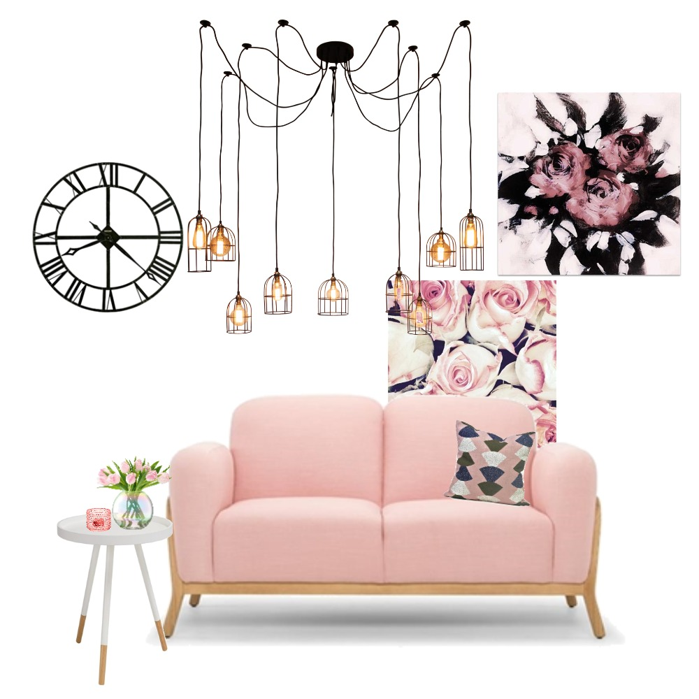Pink Mood Board by amash on Style Sourcebook