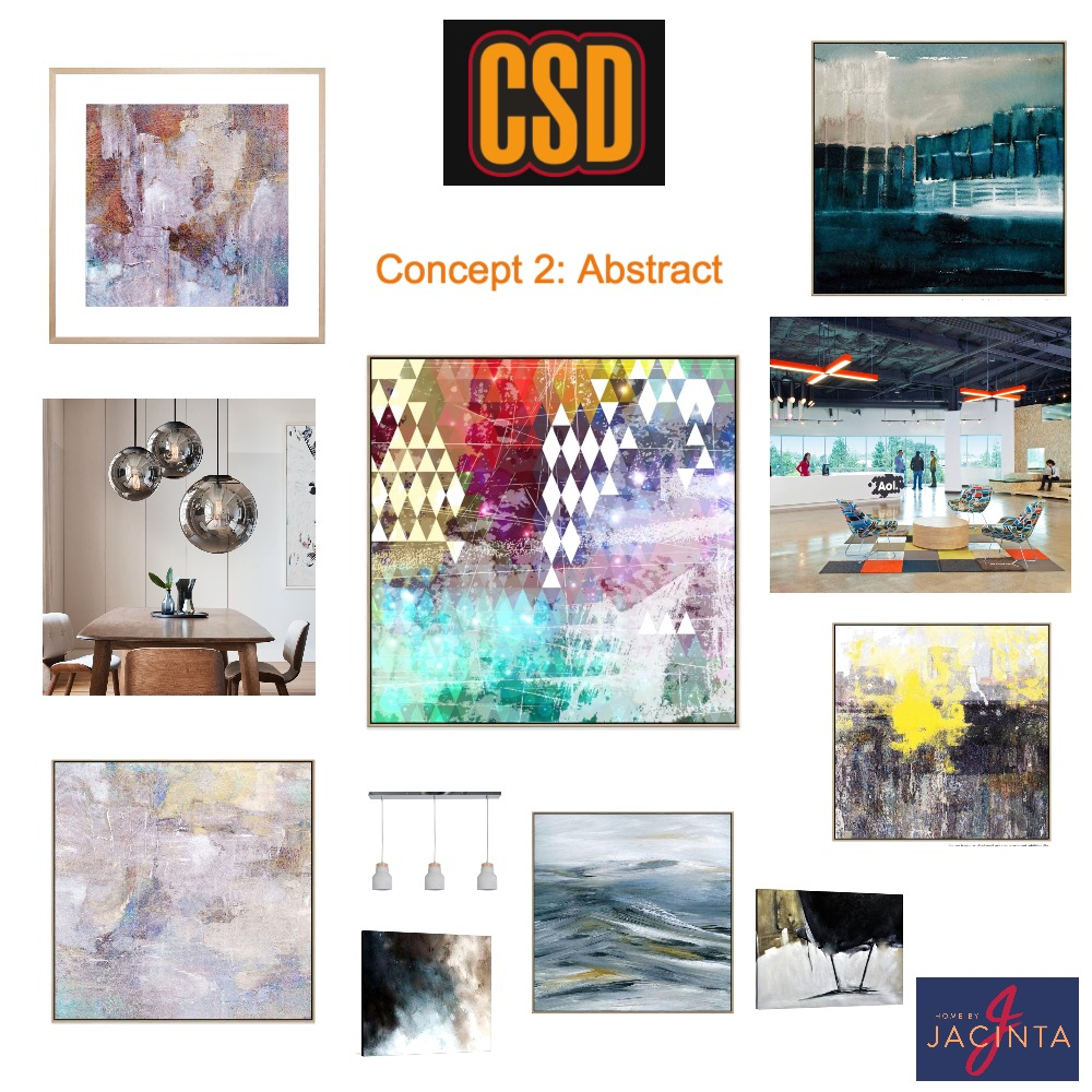 CSD - Abstract concept Mood Board by Home By Jacinta on Style Sourcebook