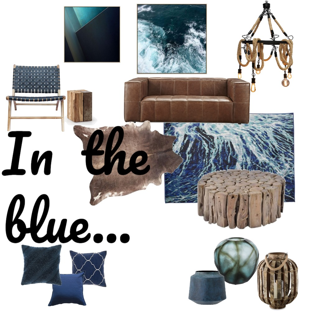 In the blue... Interior Design Mood Board by Fathima on Style Sourcebook