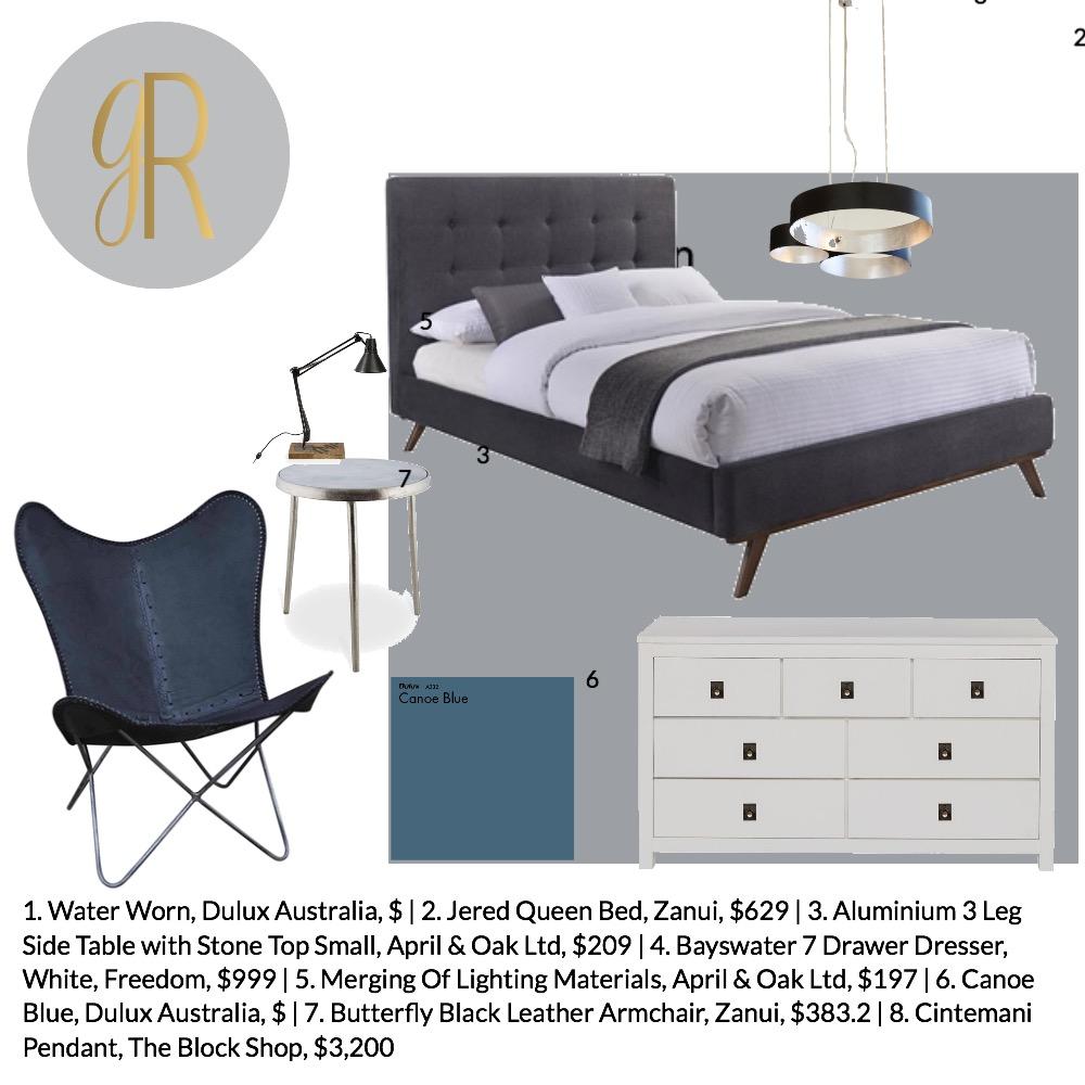 boys bedroom Mood Board by GeorginaRahi on Style Sourcebook