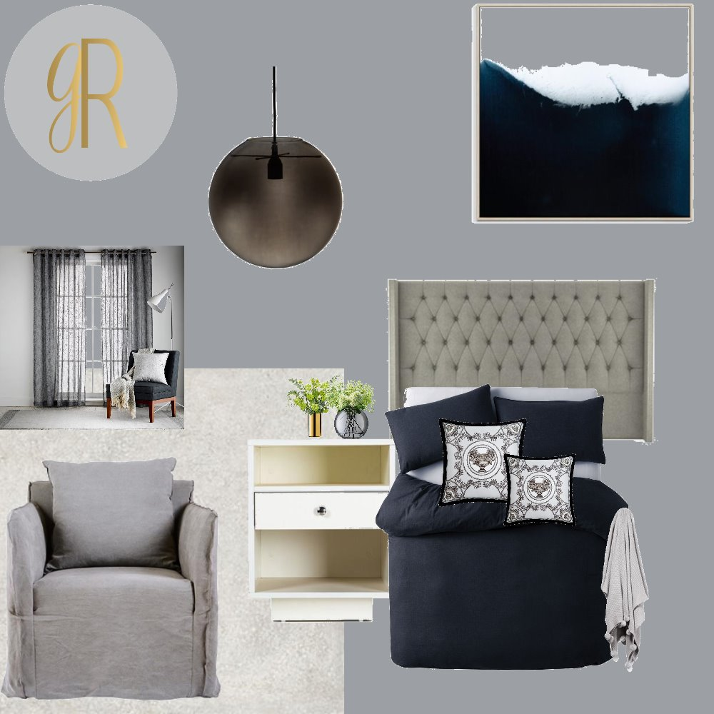 master bedroom Interior Design Mood Board by GeorginaRahi on Style Sourcebook