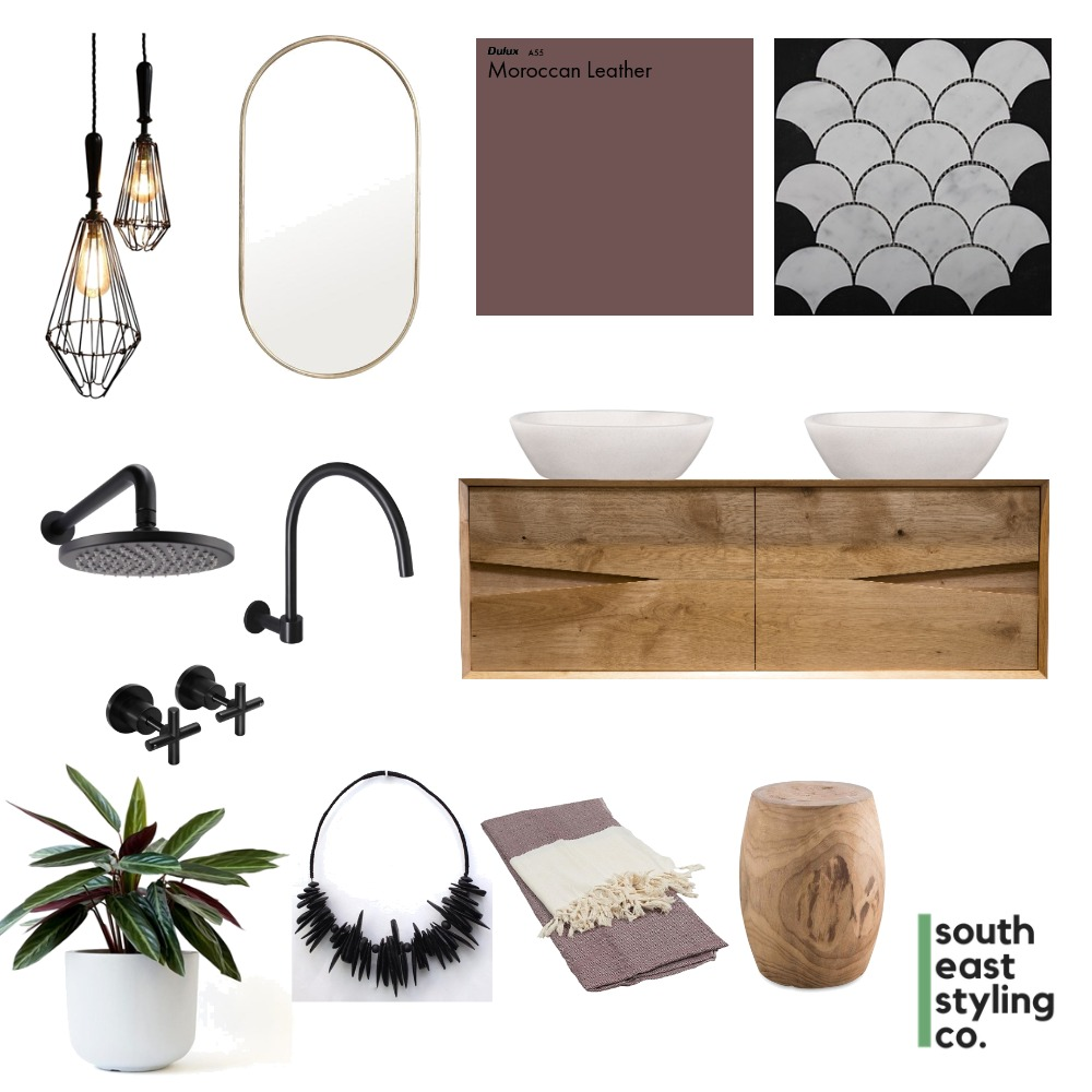 Bathroom Styling 1 Mood Board by South East Styling Co.  on Style Sourcebook