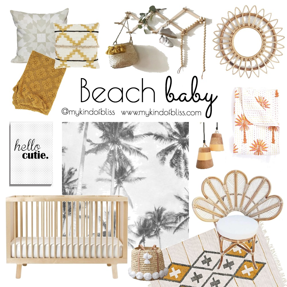 Beach Baby Mood Board by My Kind Of Bliss on Style Sourcebook