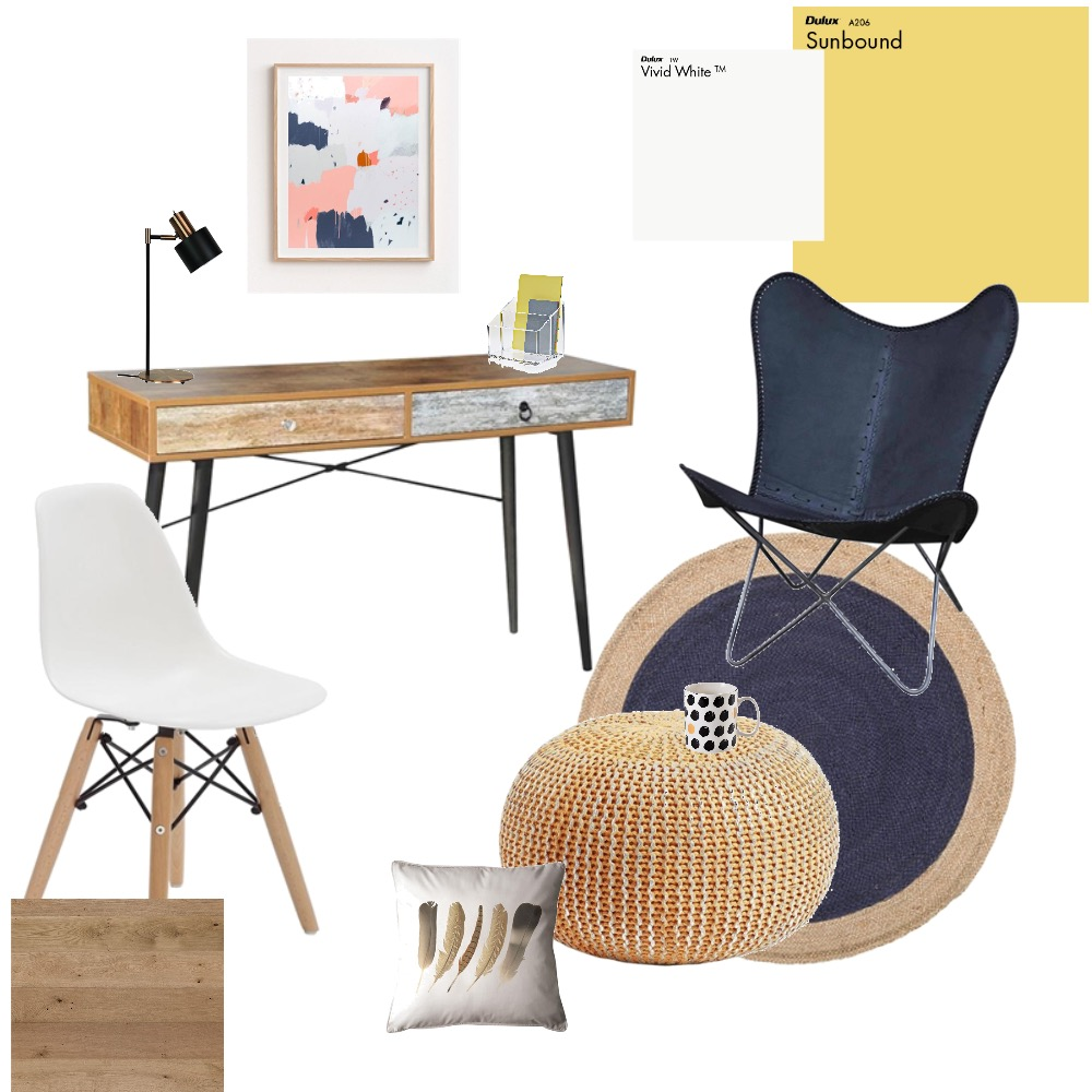 Modern study room Mood Board by farmehtar on Style Sourcebook