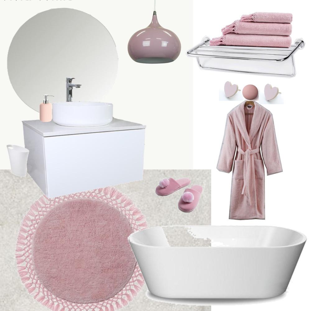 Blush bath Mood Board by Ayesha on Style Sourcebook
