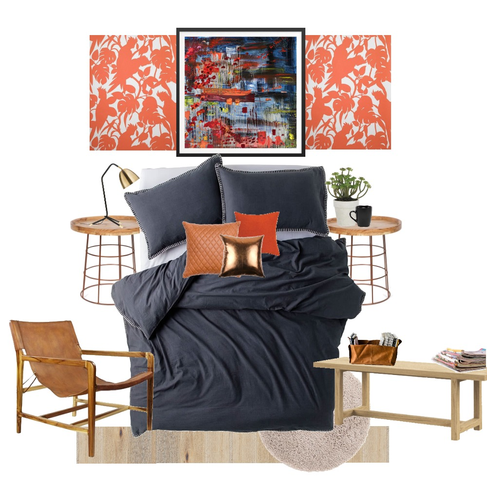 Project House Rules - House 1 Rules - Bedroom Mood Board by Michelle Finch on Style Sourcebook