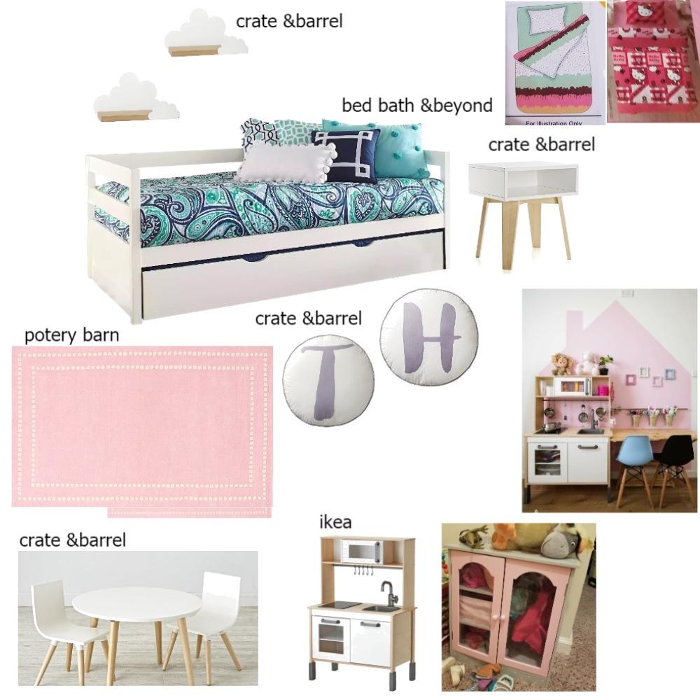 girls room Mood Board by designbysa on Style Sourcebook