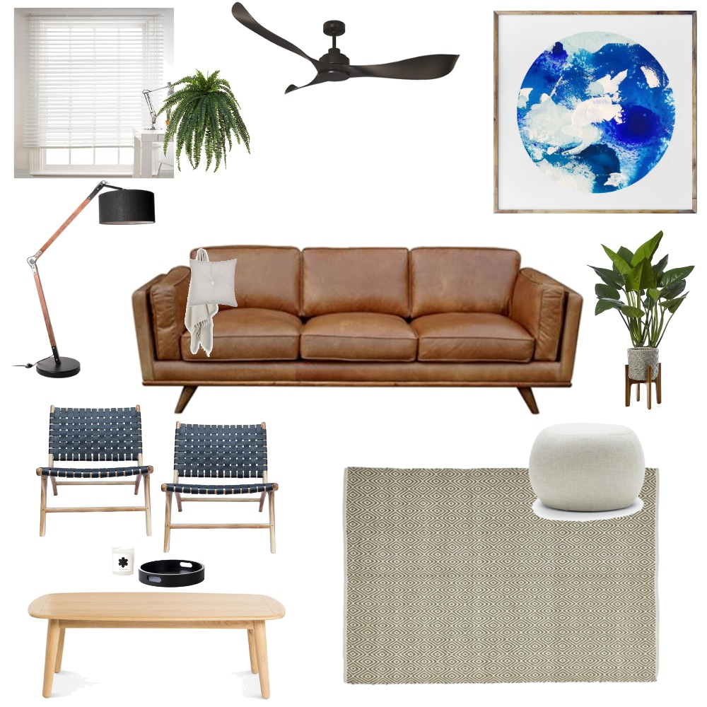 indigo living Mood Board by mortarandnoir on Style Sourcebook
