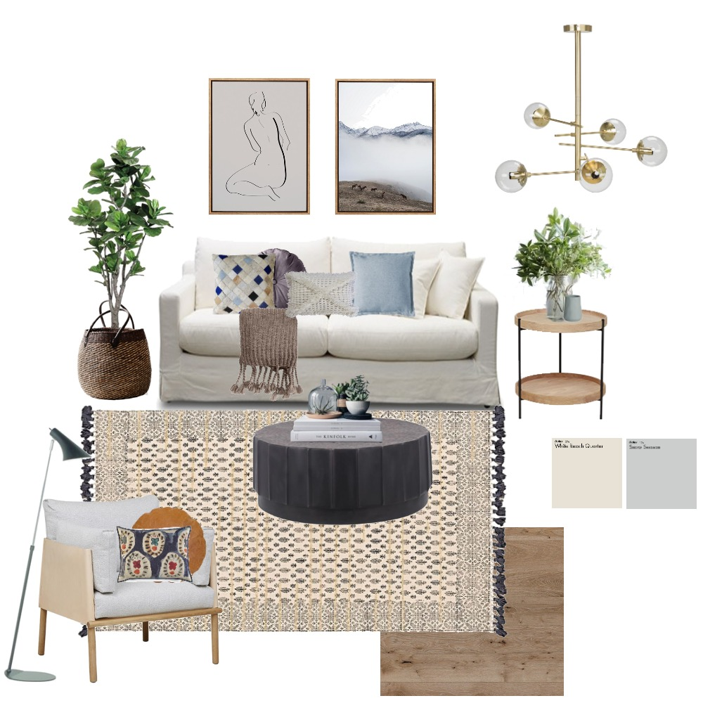 Living West Coast Style Mood Board by StudioMcQueen on Style Sourcebook