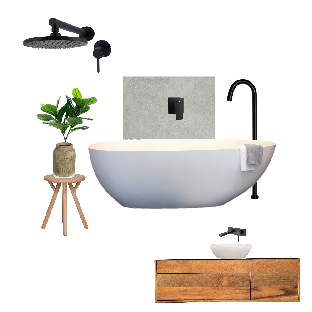 Bathroom Interior Design Mood Board by beccclingly on Style Sourcebook