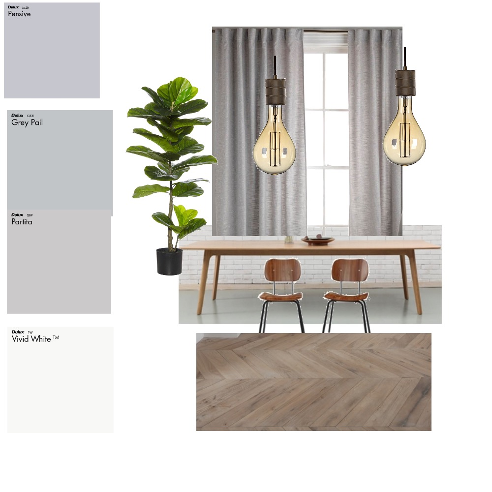 Dining Room Mood Board by Penelope on Style Sourcebook