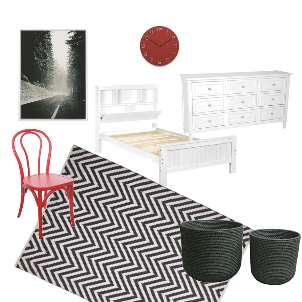 Luke's Room Mood Board by clairepetho on Style Sourcebook