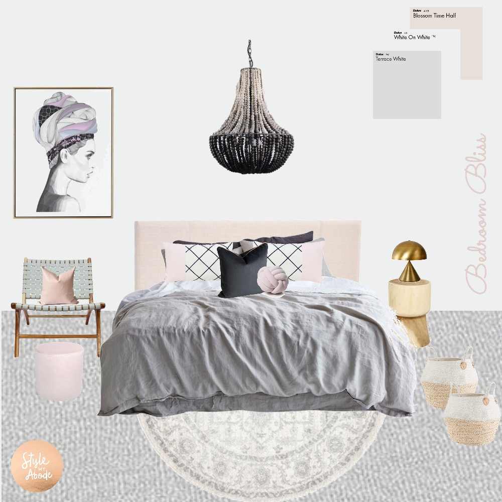 Bedroom Bliss Mood Board by Style My Abode Ltd on Style Sourcebook