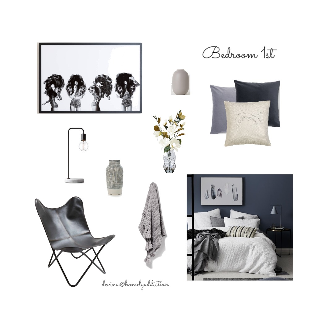 Kavanagh bedroom 1st Mood Board by HomelyAddiction on Style Sourcebook