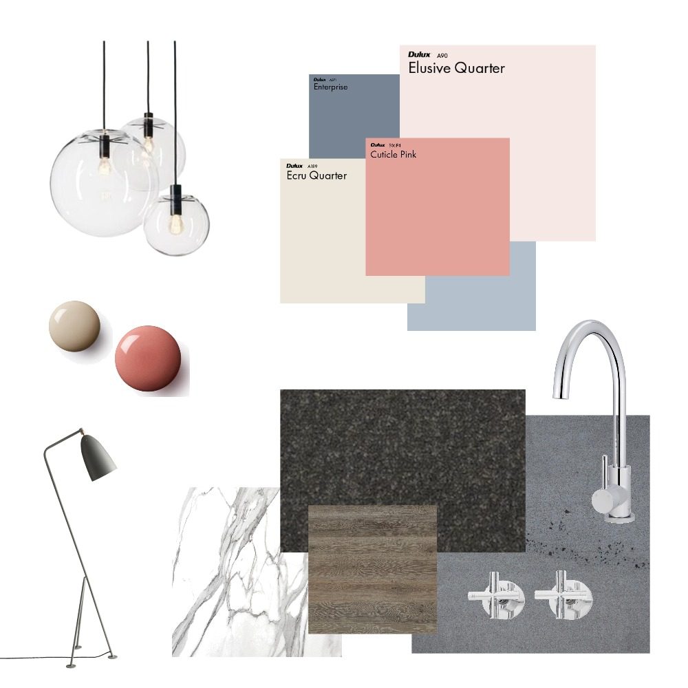 South Yarra Project Mood Board by E & H Design on Style Sourcebook
