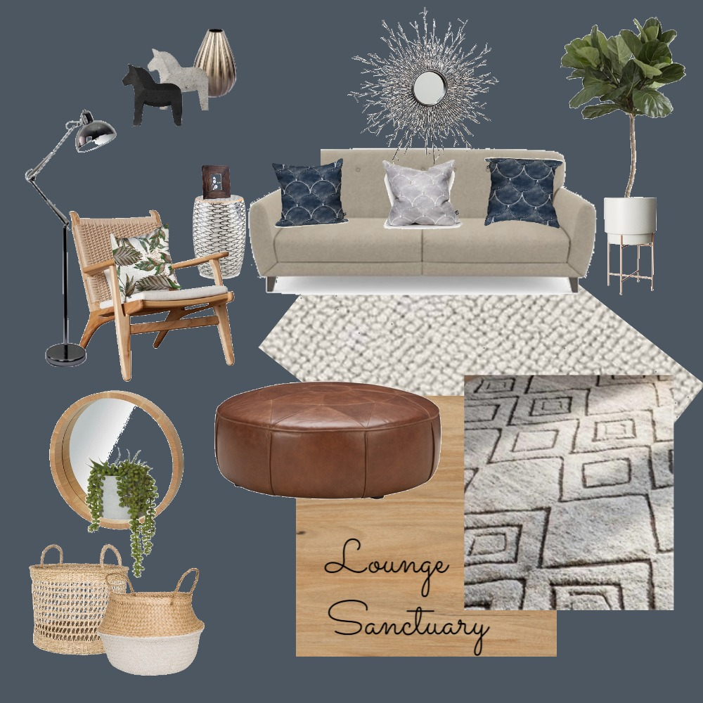 A Lounge sanctuary Interior Design Mood Board by Gervaise Interior Design on Style Sourcebook