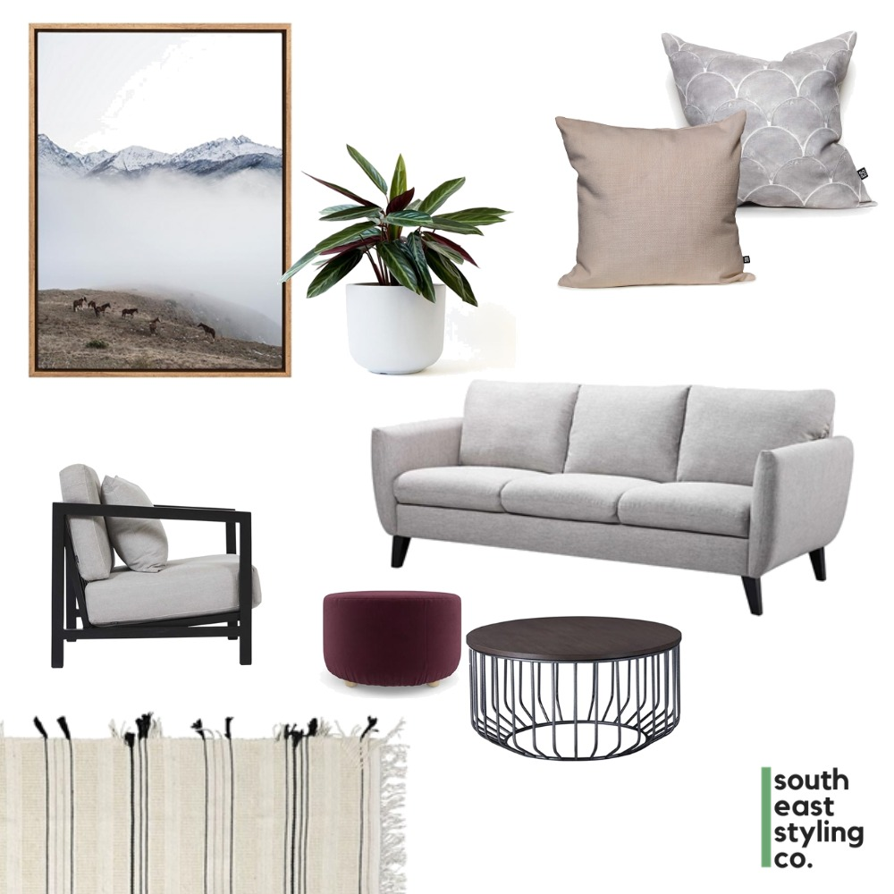 Living Styling 1 Mood Board by South East Styling Co.  on Style Sourcebook