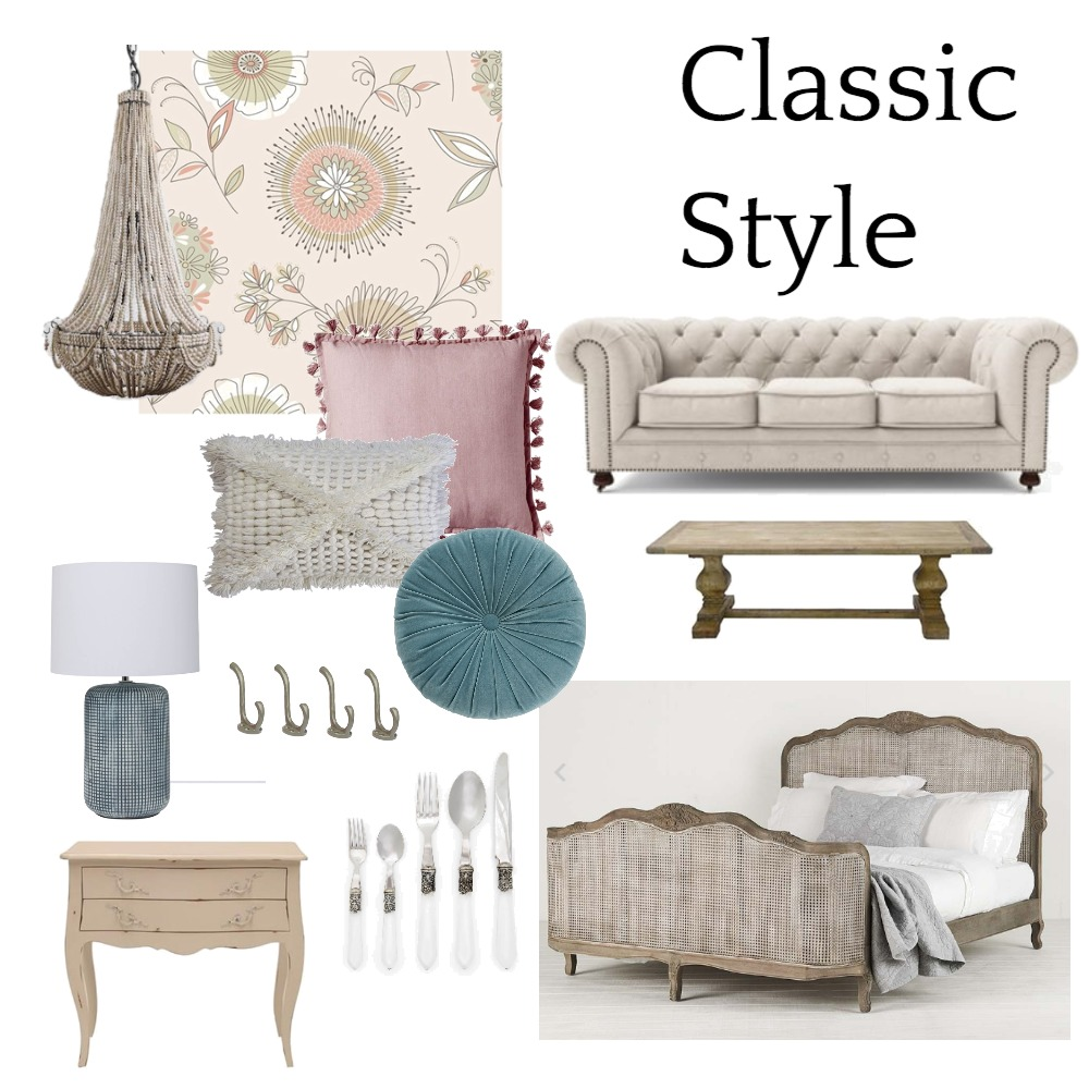 Classic Style Interior Design Mood Board by Interior Designstein on Style Sourcebook