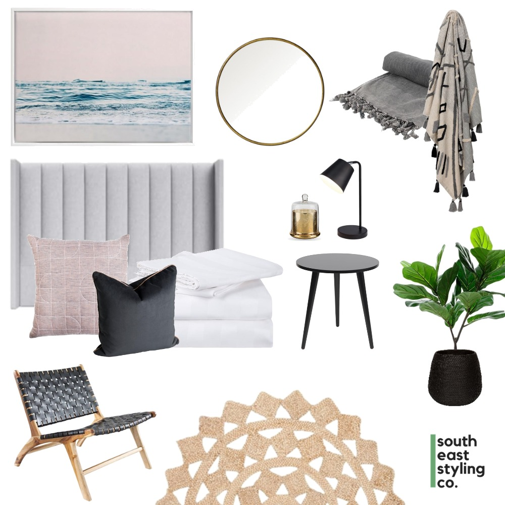 Bedroom Styling 3 Interior Design Mood Board by South East Styling Co.  on Style Sourcebook