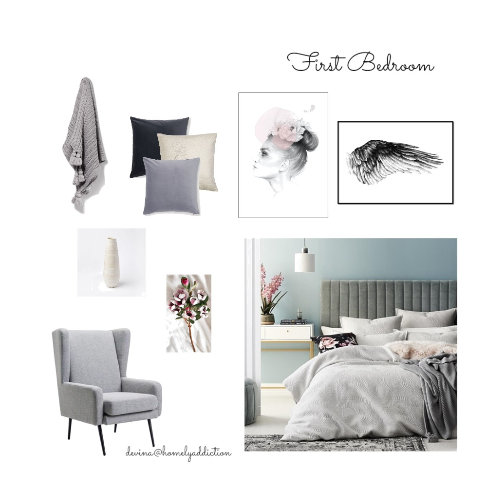 Eureka first bedroom Mood Board by HomelyAddiction on Style Sourcebook