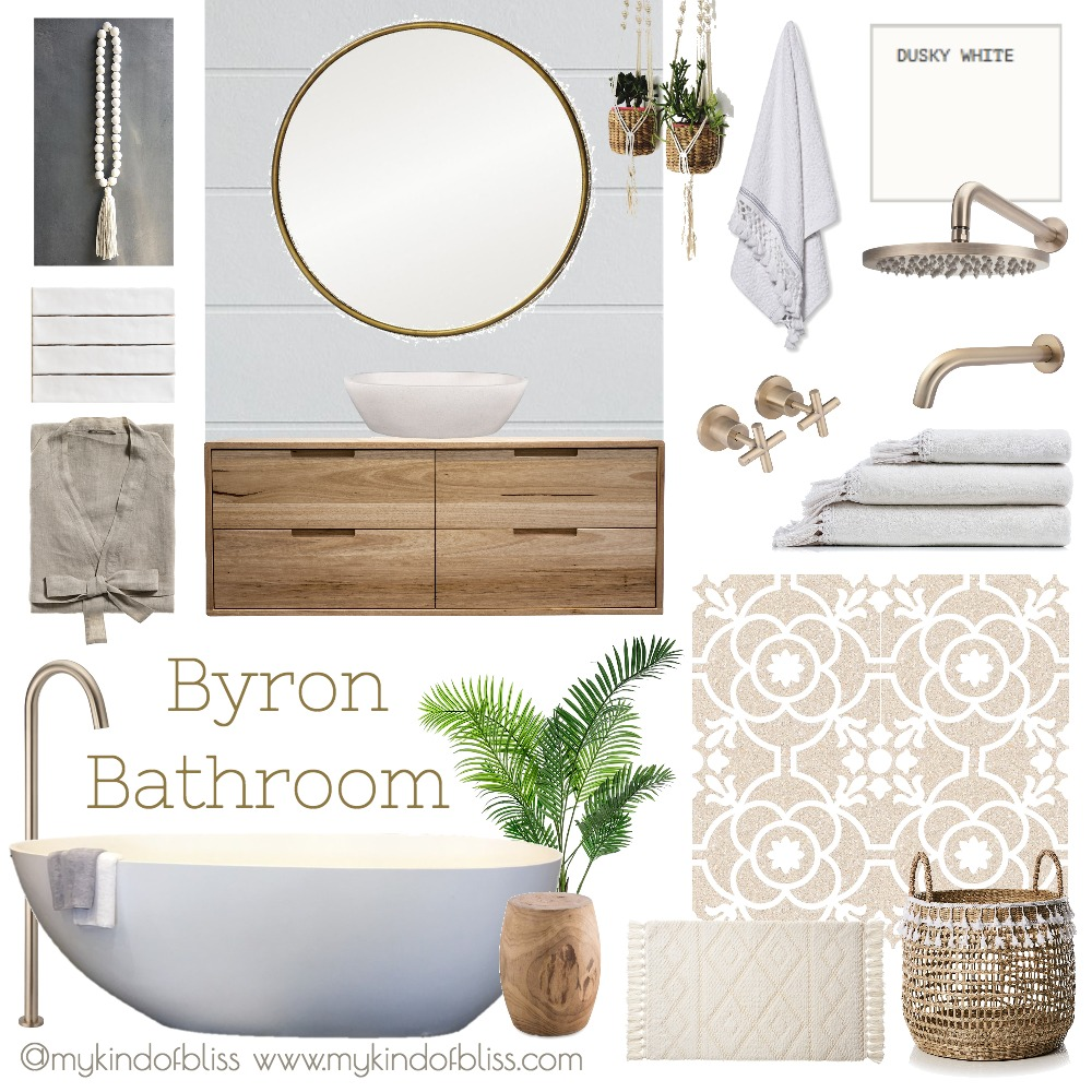 Byron Bathroom Mood Board by My Kind Of Bliss on Style Sourcebook
