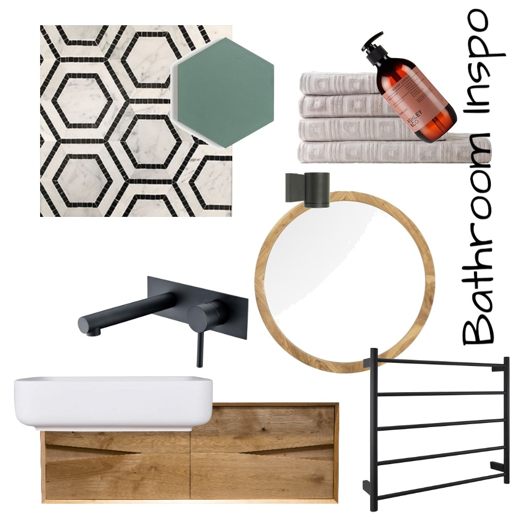 Bathroom Inspo Mood Board by EvolutionDesign on Style Sourcebook