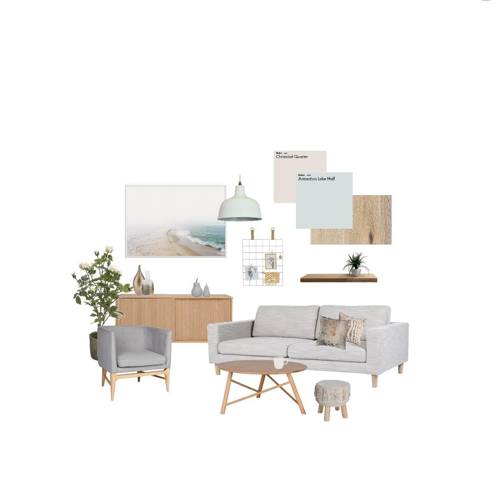 living room coastal Mood Board by ZIINK on Style Sourcebook