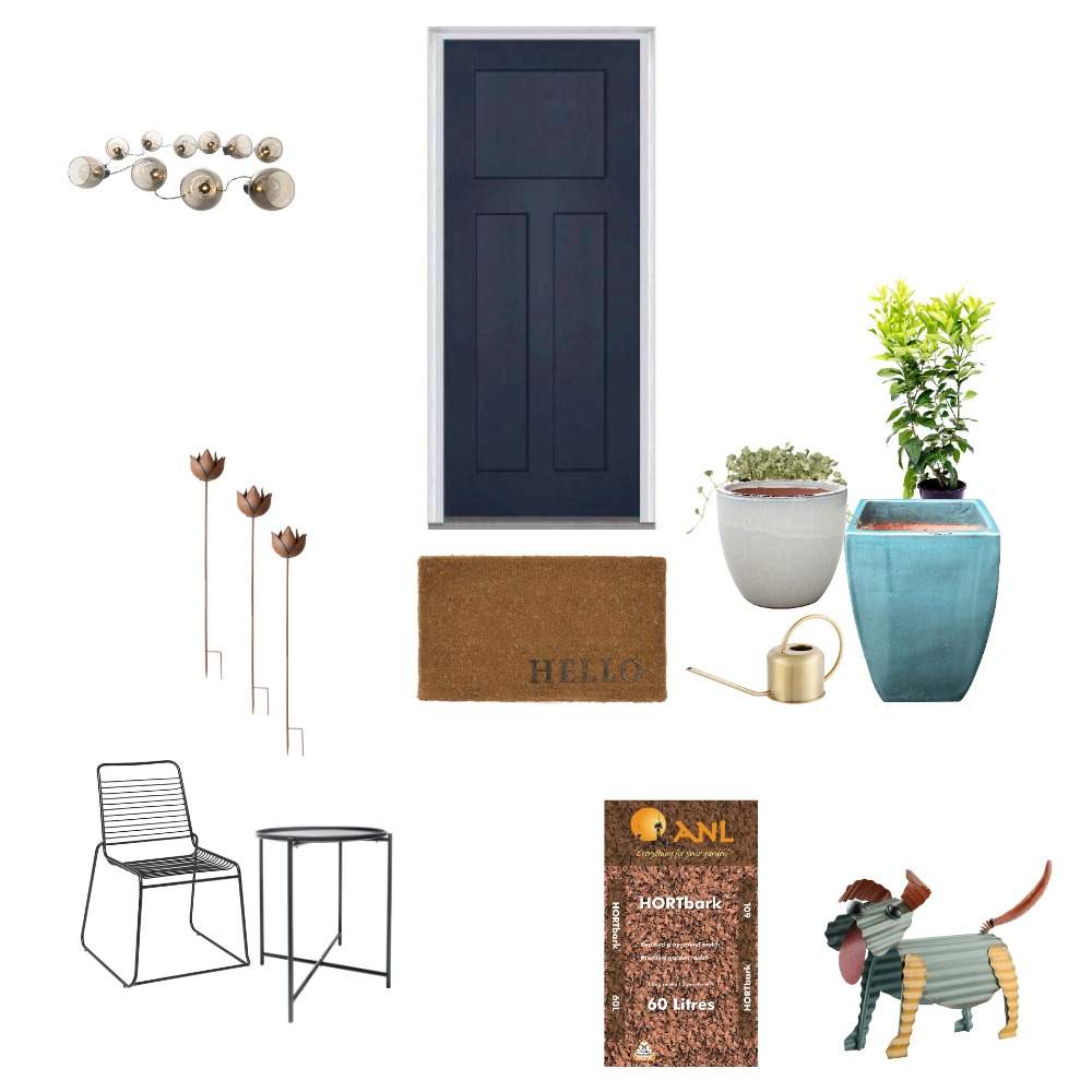 Cottage front entrance Mood Board by Bonnie on Style Sourcebook