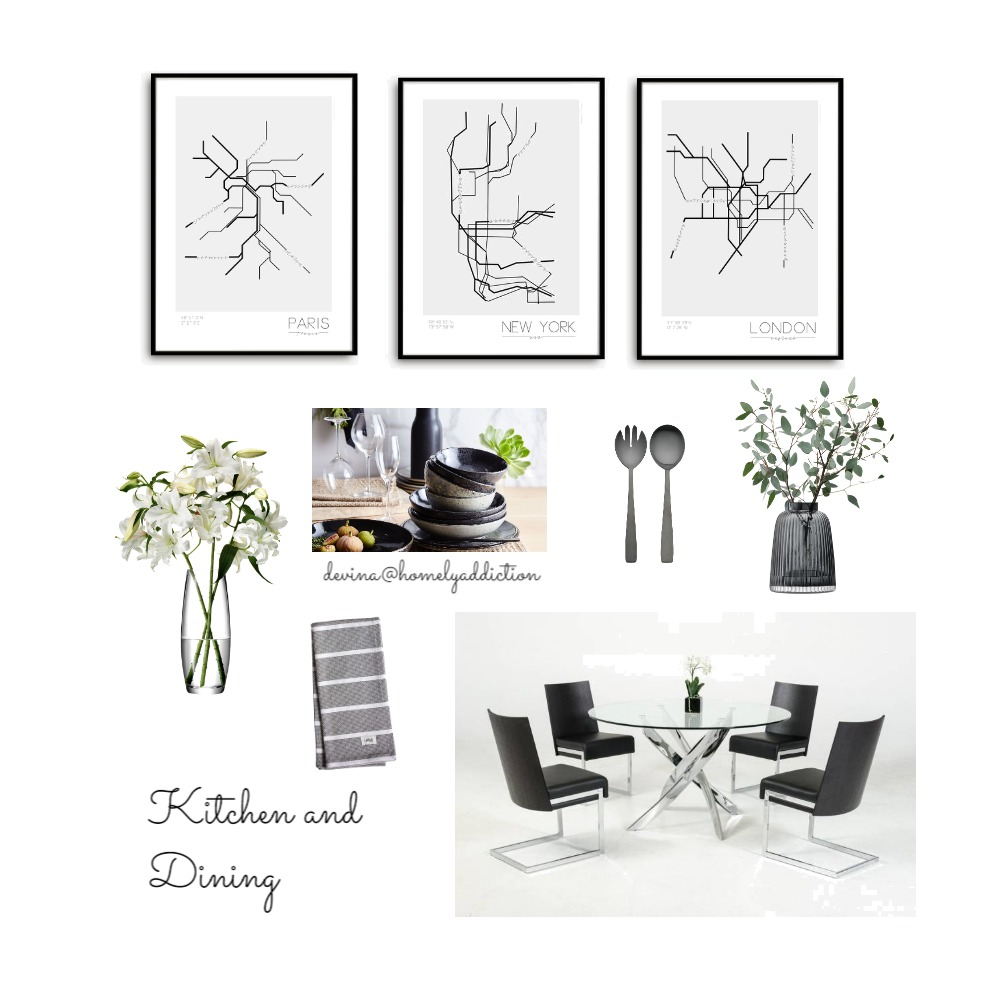 Eureka dining and kitchen Mood Board by HomelyAddiction on Style Sourcebook