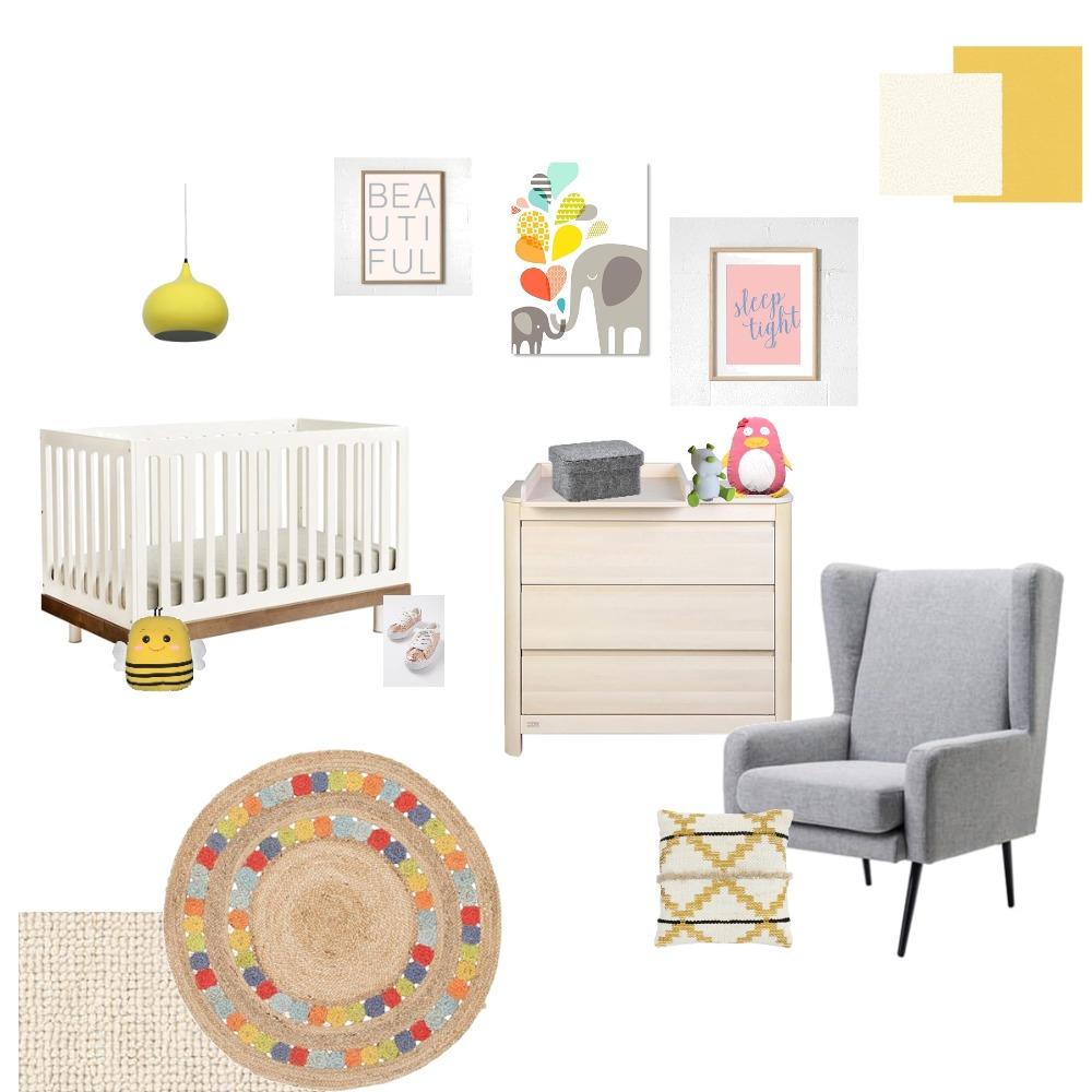 Little Nursery Interior Design Mood Board by farmehtar on Style Sourcebook