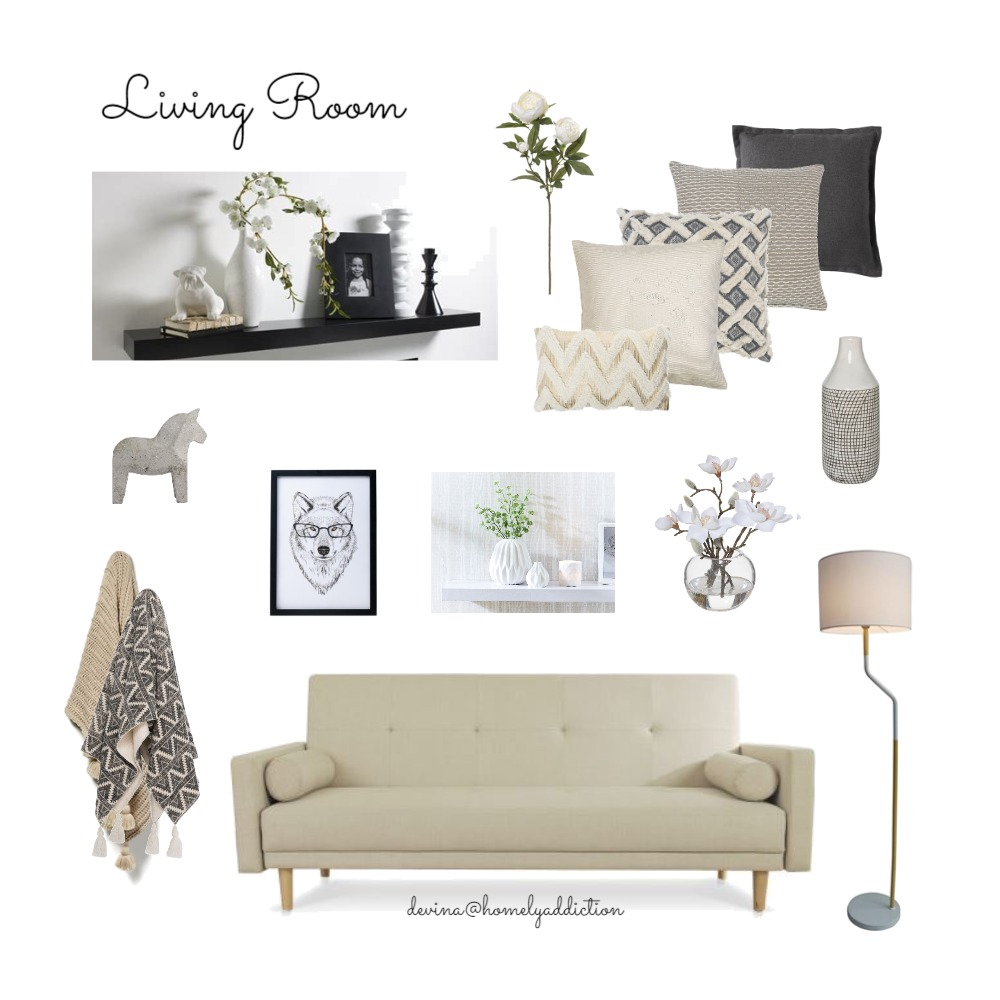 Eureka living and console Mood Board by HomelyAddiction on Style Sourcebook