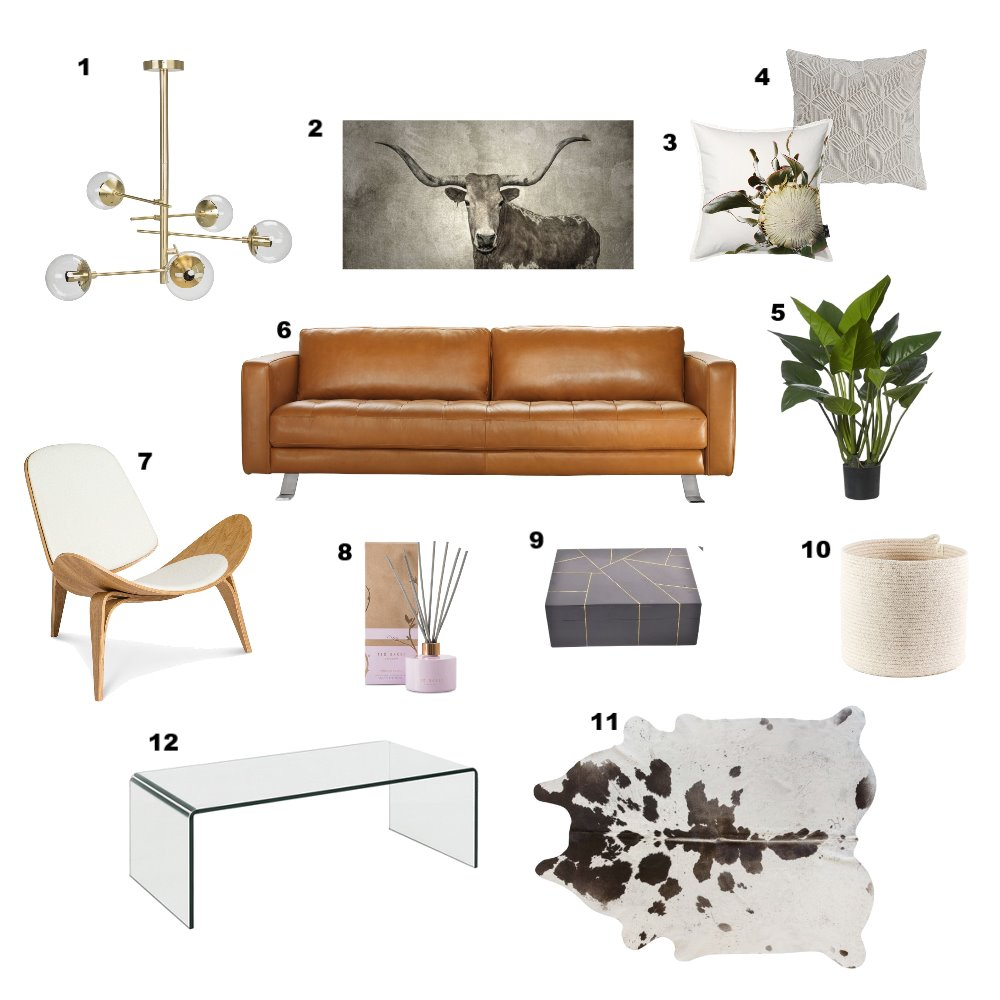 Lounge Mood Board by Zamazulu on Style Sourcebook