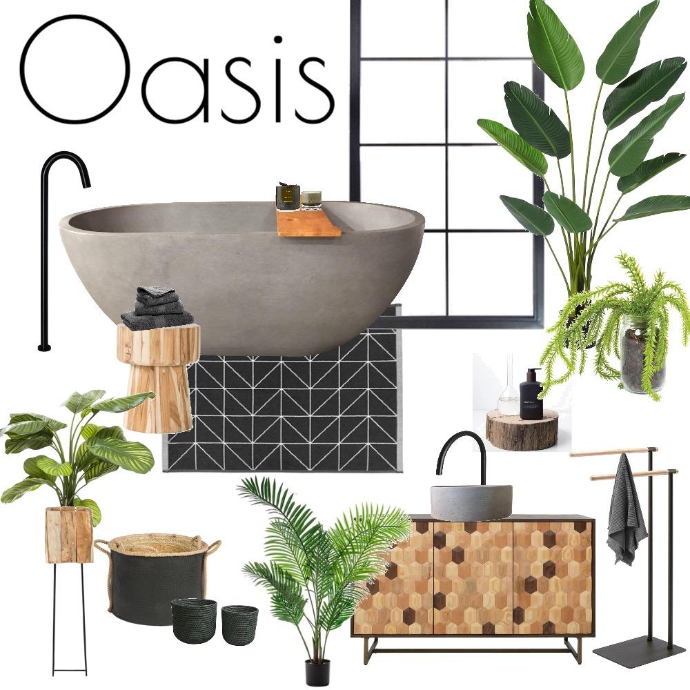 Bathroom Oasis Mood Board by rasavereniute on Style Sourcebook